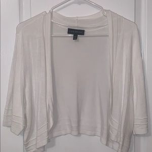 Lane Bryant white sweater